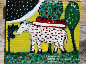 ドイツの馬と林檎
