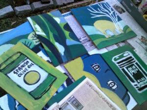 2012年僕の画家人生は始まった